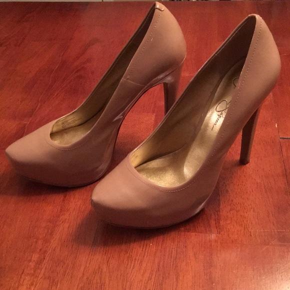 2895a29049c Jessica Simpson Nude Heels